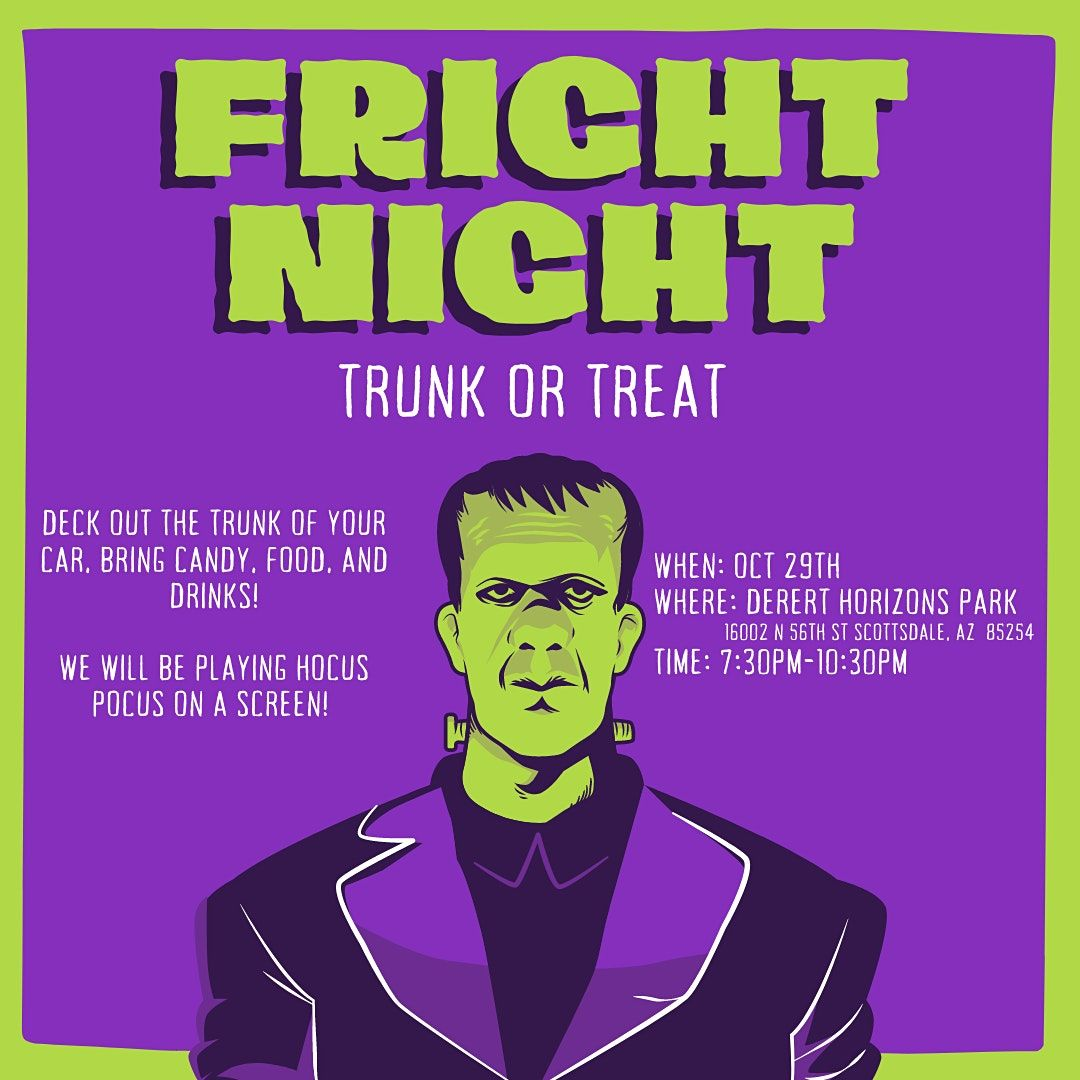 Fright Night: Trunk or Treat | Event in Scottsdale | AllEvents.in