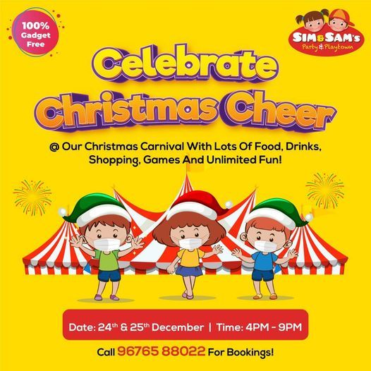 Christmas Carnival, 24 December | Event in Hyderabad | AllEvents.in