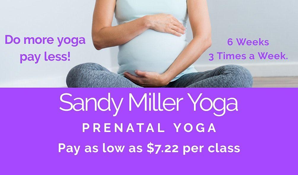6 Week 3 Times Per Week Prenatal Yoga Series Live Online | Online Event | AllEvents.in