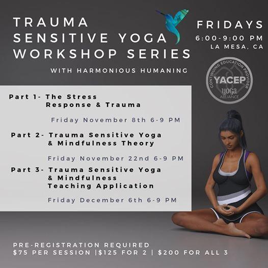 Trauma Sensitive Yoga Workshop Series