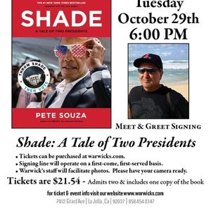 Pete Souza - Shade A Tale of Two Presidents