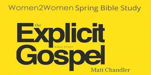 The Explicit Gospel – Women's Study | Event in Calgary | AllEvents.in