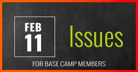 BASE CAMP Lead Now: EOS IDS Session - Issues, 11 February   Online Event   AllEvents.in