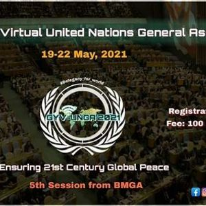Global Youth Virtual Model United Nations General Assembly 2021