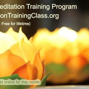 Free Online 1-Day Meditation Training Program-South Bangalore KA