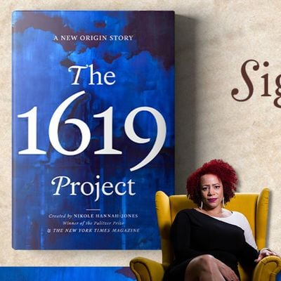 Busboys and Poets Books Presents THE 1619 PROJECT Signed Pre-Order Sale