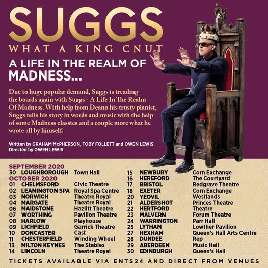 Suggs, A Life In The Realm Of Madness - Worthing, 8 May | Event in Worthing | AllEvents.in