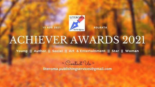 Achiever Awards 2021, 15 August | Event in Kolkata | AllEvents.in