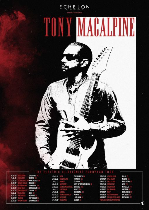 Tony MacAlpine at The Underworld Camden - New Date, 16 February | Event in London | AllEvents.in