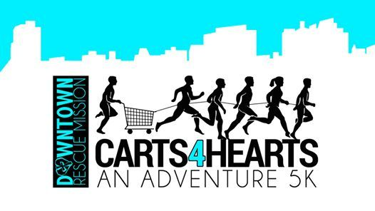 Carts4Hearts An Adventure 5K  Downtown Huntsville