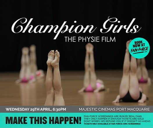Champion Girls - Majestic Cinemas Port Macquarie
