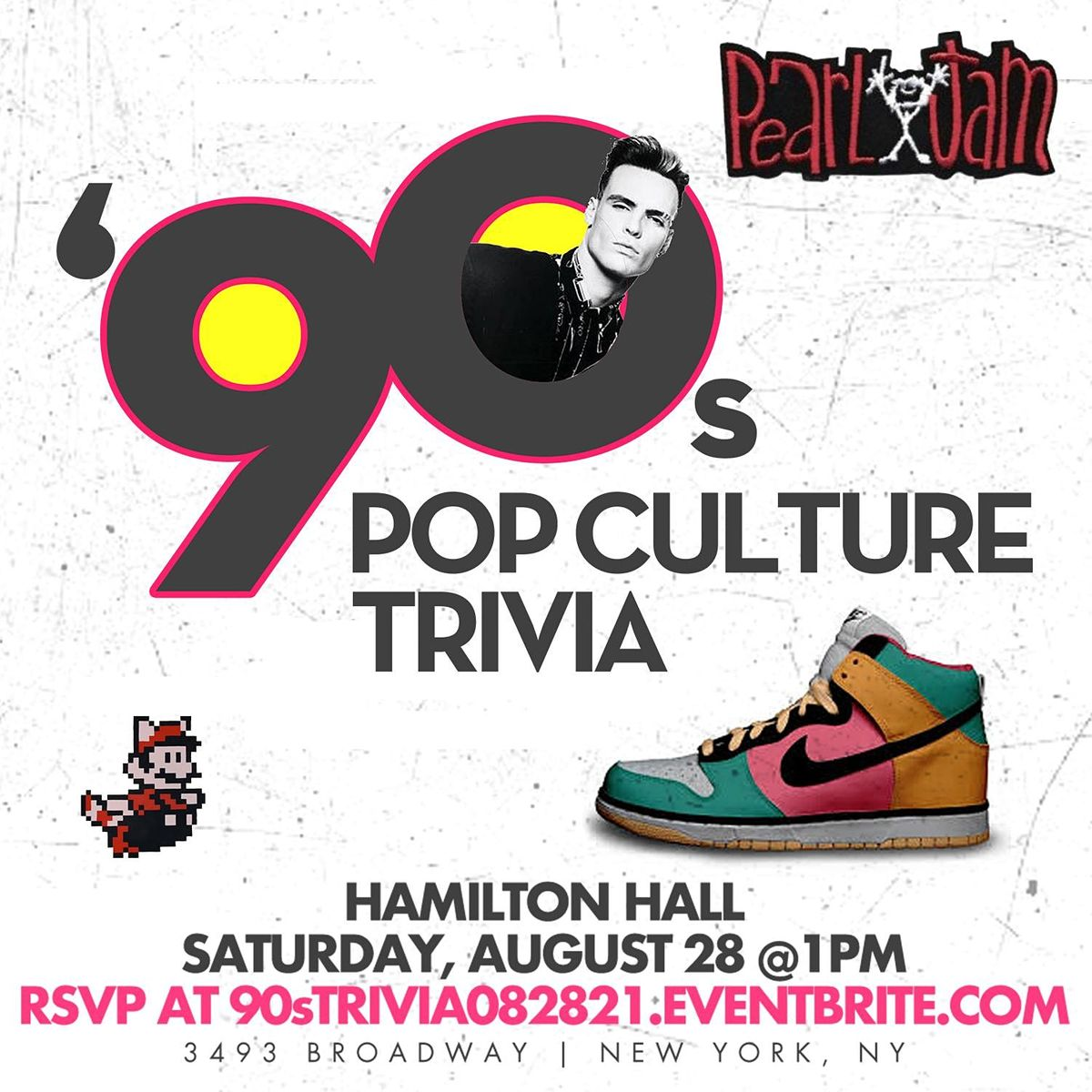 90s Pop Culture Trivia, 28 August | Event in New York | AllEvents.in