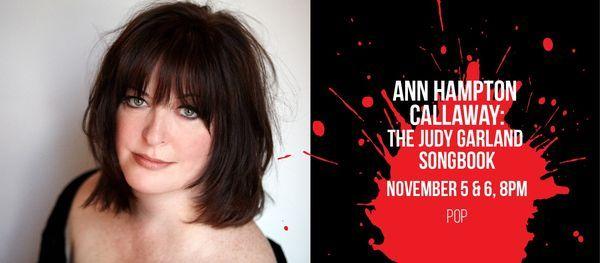 Ann Hampton Callaway: The Judy Garland Songbook, 5 November   Event in Delray Beach   AllEvents.in