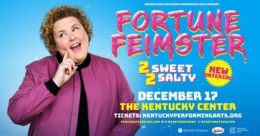 Fortune Feimster: 2 Sweet 2 Salty, 17 December | Event in Louisville | AllEvents.in