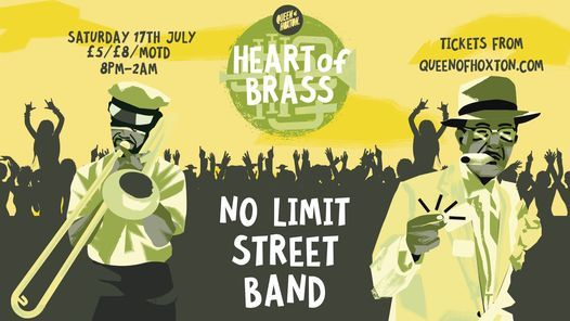 Heart of Brass w/ No Limit Street Band (Live Brass Band), 17 July | Event in London | AllEvents.in
