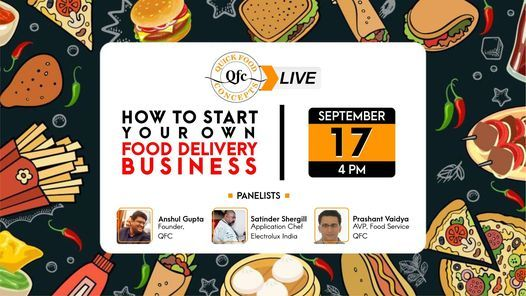 How To Start Your Own Food Delivery Business - QFC LIVE