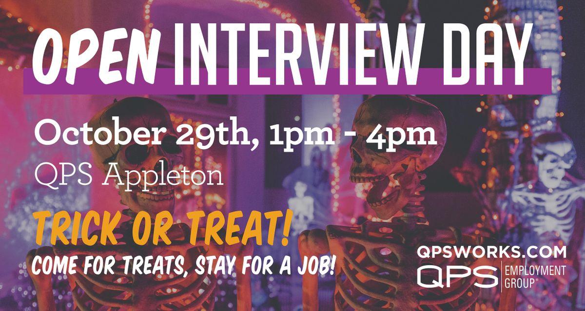QPS Appleton Open Interview Day, 29 October   Event in Appleton   AllEvents.in