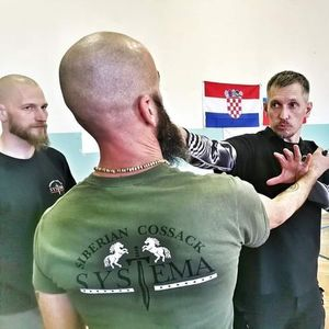 Close Quarter Combat with Master Yuri Sheshukov