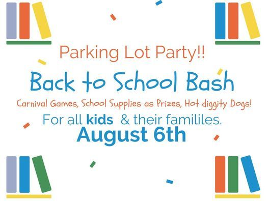 Back to School Parking Lot Party, 6 August   Event in Warsaw   AllEvents.in