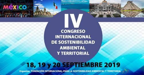 IV Congreso Internacional Sostenibilidad Ambiental Territorial