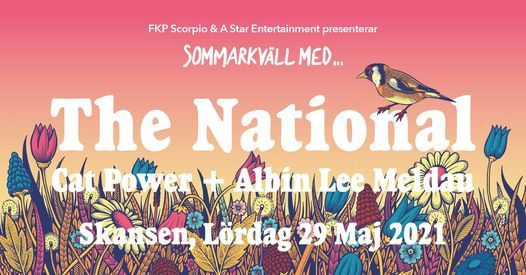 Sommarkväll med The National / Cat Power / Albin Lee Meldau, 29 May | Event in Stockholm | AllEvents.in