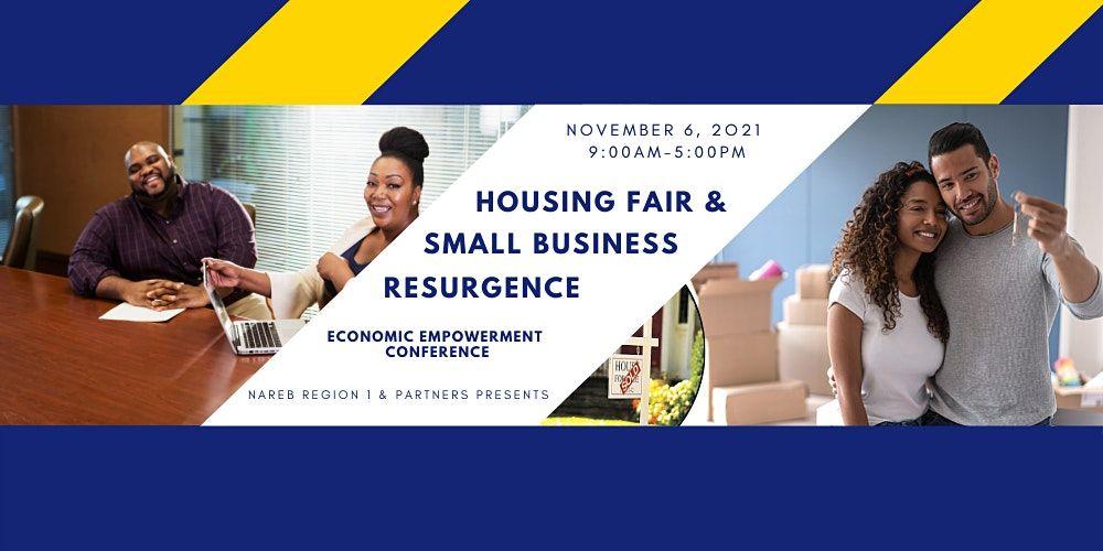 November 06, 2021 Free Community Housing Fair and Business Resurgence Event, 6 November | Event in Boston