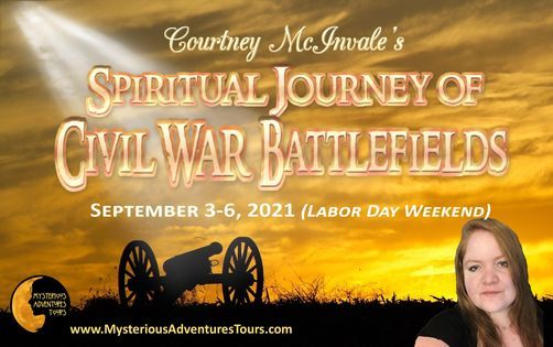 Courtney McInvale's Spiritual Journey of Civil War Battlefields, 3 September | Event in Gettysburg | AllEvents.in
