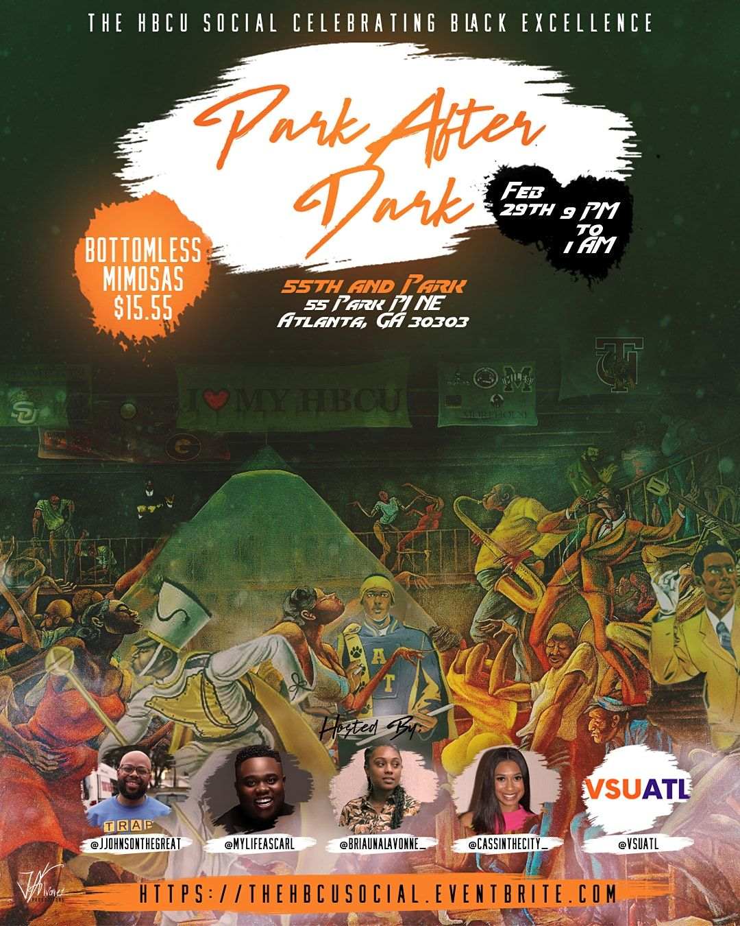 Park After Dark: The HBCU Social | Event in Atlanta | AllEvents.in