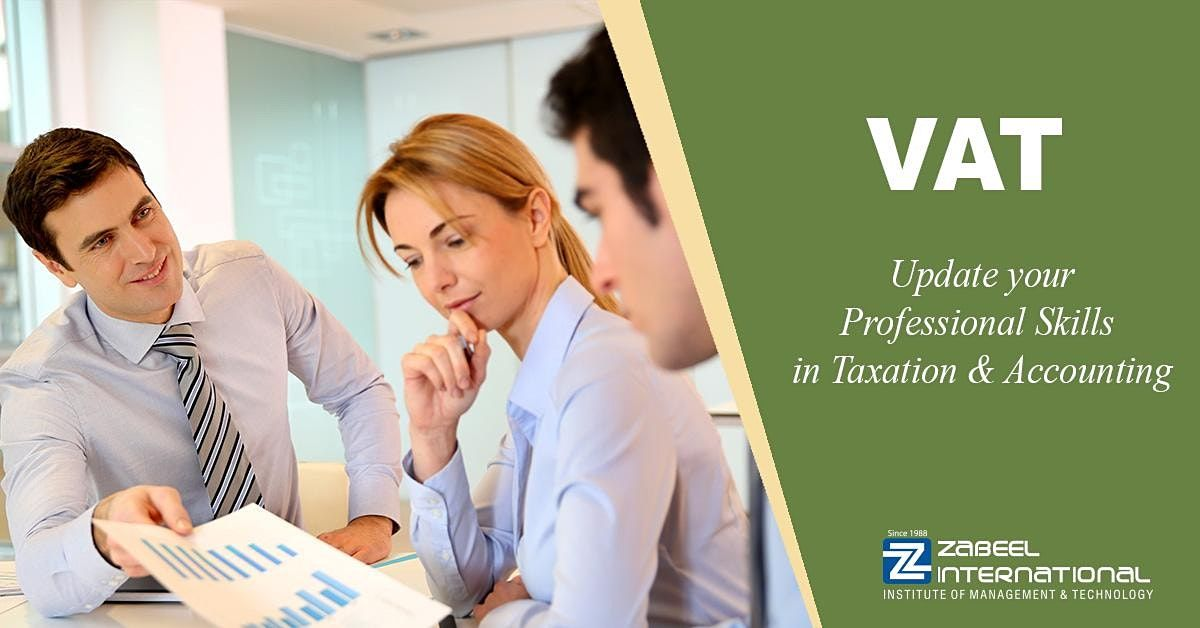 VAT Training and Certification Course   Event in Dubai   AllEvents.in