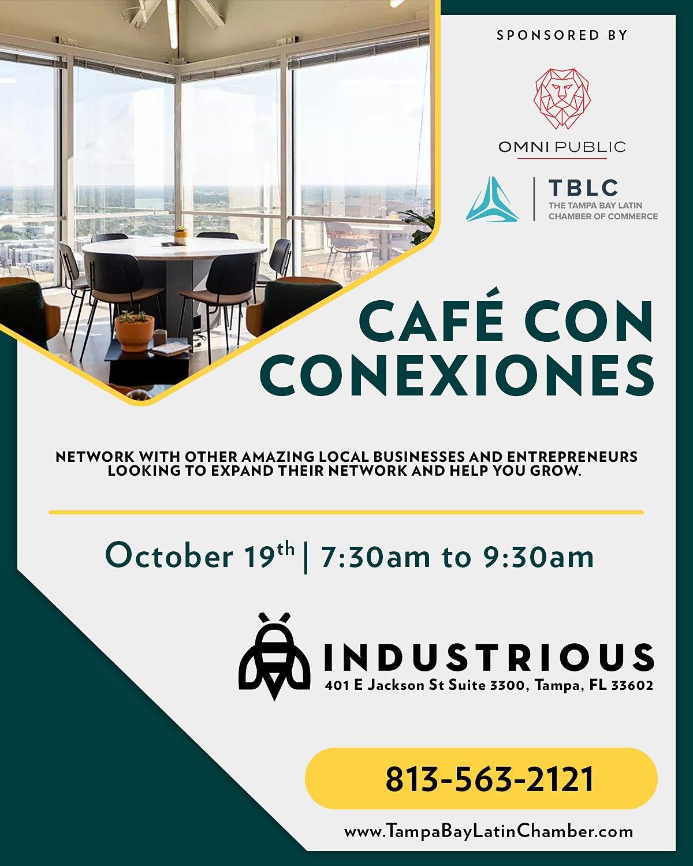 Café Con Conexiones, 19 October   Event in Tampa   AllEvents.in