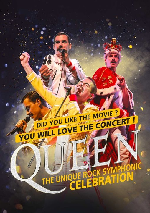 Queen symphonic celebration, 16 March | Event in Liege | AllEvents.in