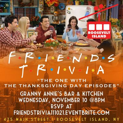 Friends Trivia The One with the Thanksgiving Episodes