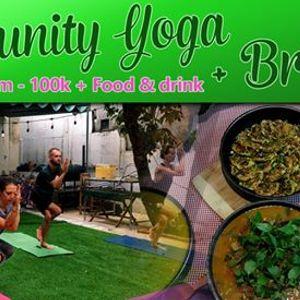 Community Yoga and Brunch