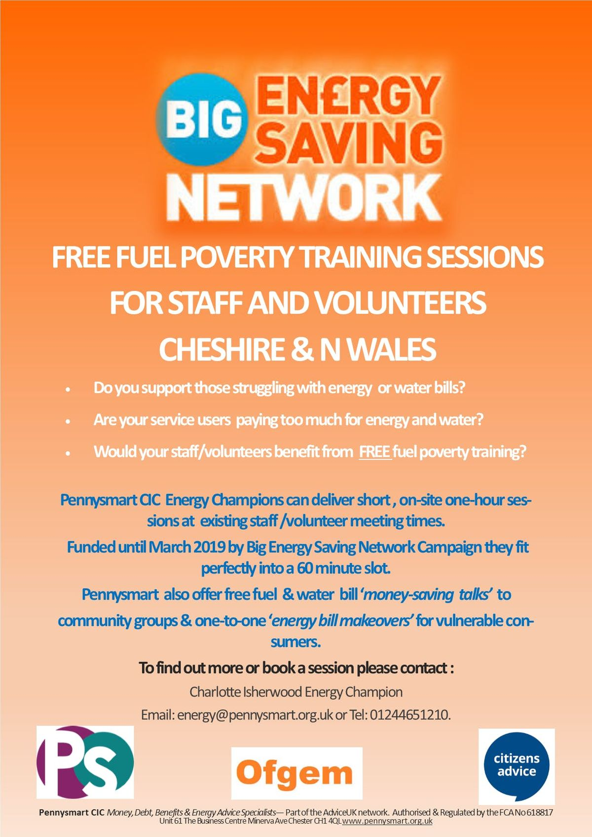BIG ENERGY SAVING NETWORK - Fuel Poverty Awareness Workshop