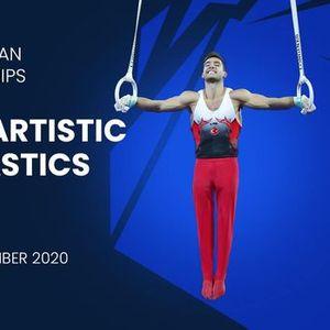 2020 Mens Artistic Gymnastics Europeans - Mersin (TUR)