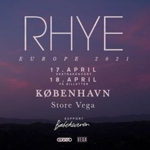RHYE [Support Babeheaven] - Store VEGA