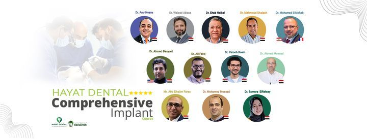 Comprehensive Implant Course   Event in Cairo   AllEvents.in