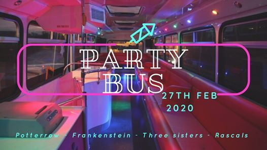 PARTY BUS The Ultimate Bar Crawl