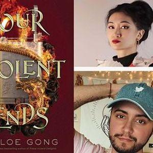 P&P Live Chloe GongOur Violent Ends-with Roshani Chokshi & Aiden Thomas