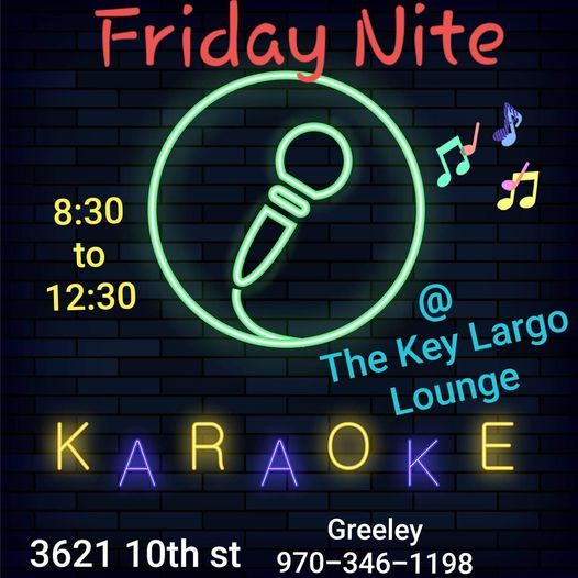 Friday Night Karaoke, 21 May | Event in Greeley | AllEvents.in