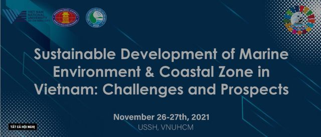 Sustainable Development of Marine Environment and Coastal Zone in Vietnam: Challenges and Prospects, 26 November