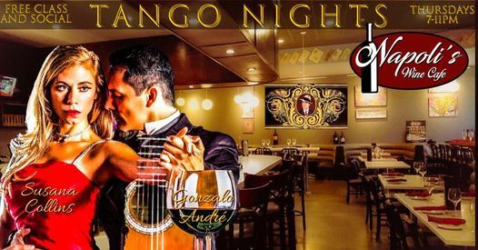 Tango Nights at Napoli's Wine Cafe, 22 April | Event in Alief | AllEvents.in
