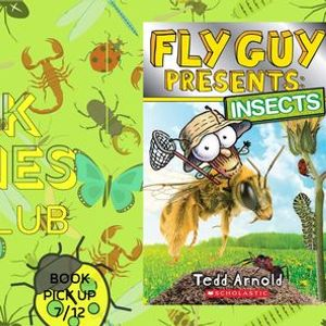 Book Buddies Book Club MEETING Fly Guy Presents Insects