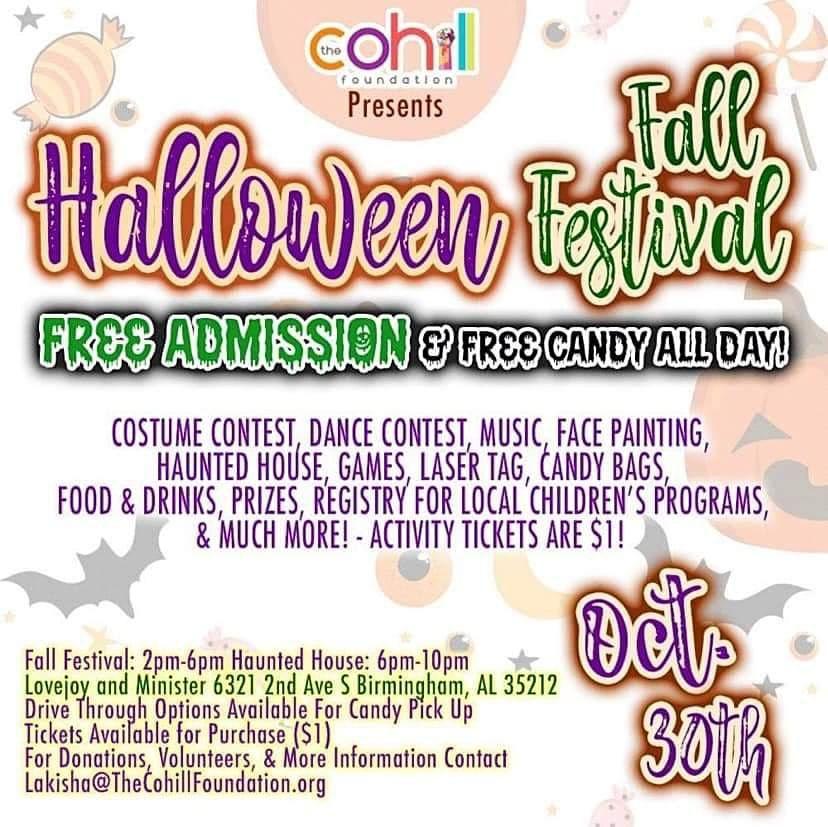 Halloween Fall Festival, 30 October | Event in Birmingham | AllEvents.in