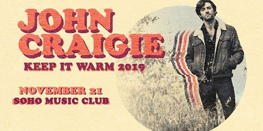 John Craigie w Special Guest Shook Twins (Night 1)
