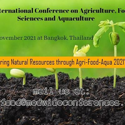 2nd International Conference on Agriculture Food Sciences and Aquaculture