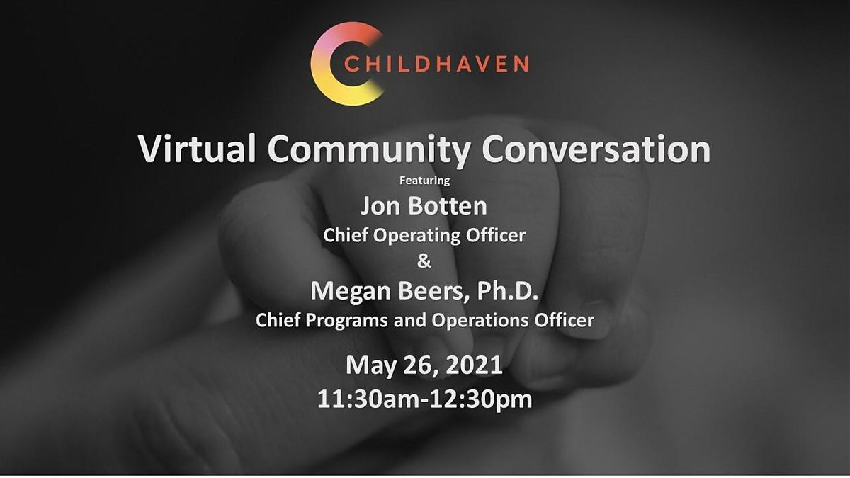 Childhaven Conversation, 26 May | Online Event | AllEvents.in