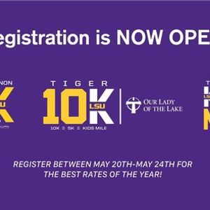 Our Lady of the Lake Tiger 10K