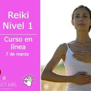 Reiki Nivel 1 en lnea