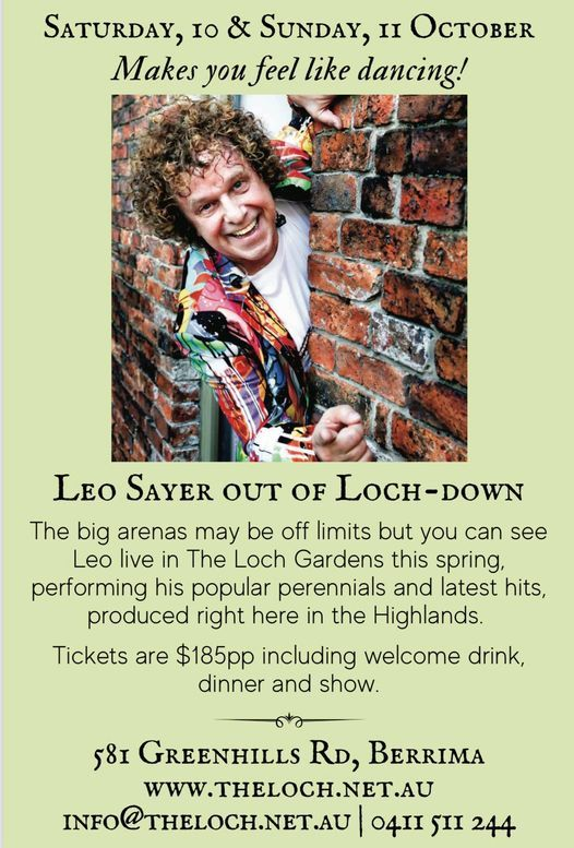 LEO SAYER Out Of Loch-Down